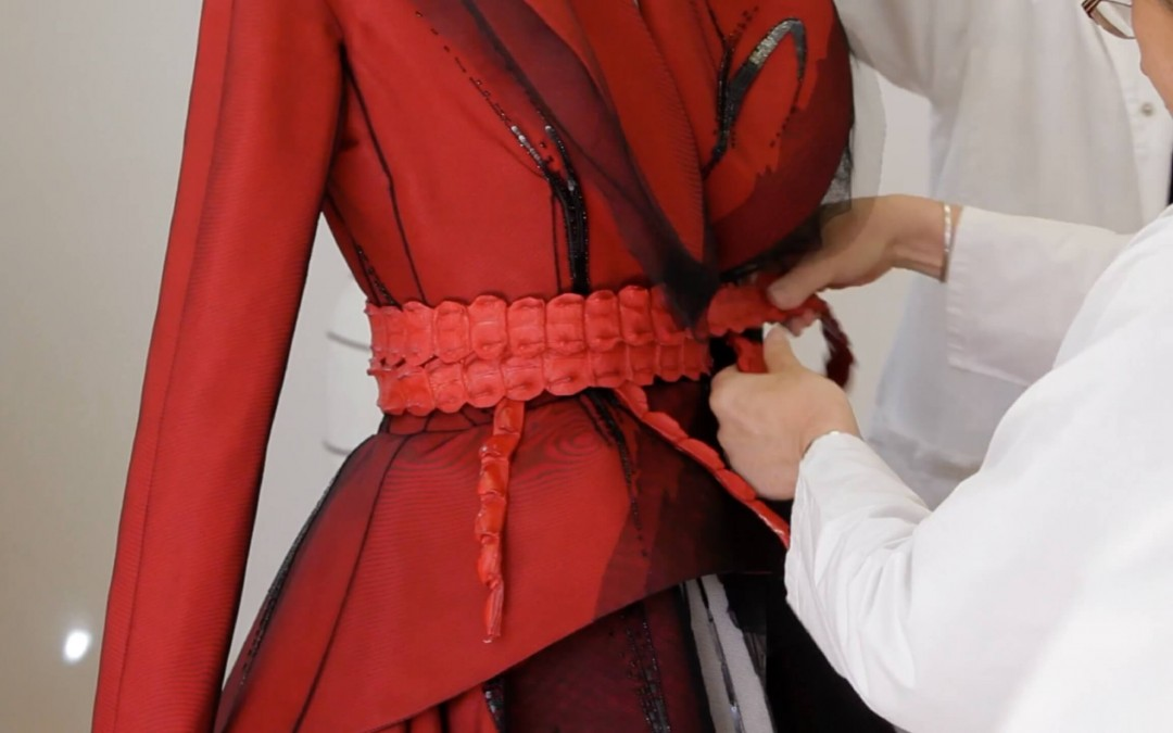 Making of A Dior Couture Dress