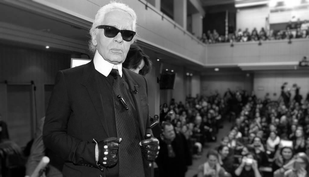 Masterclasse de Karl Lagerfeld