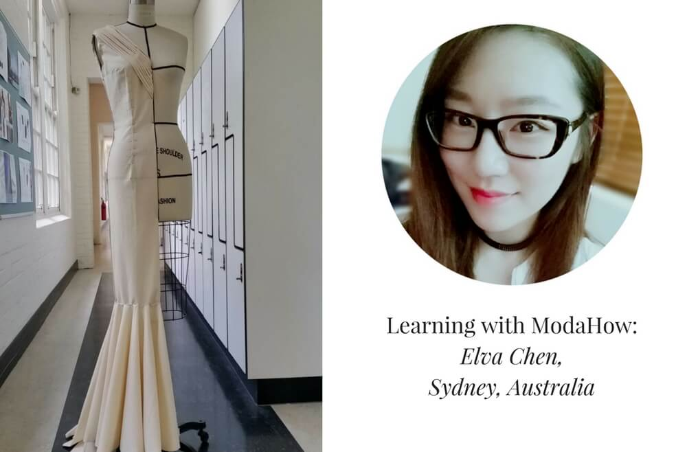 Learning draping with ModaHow