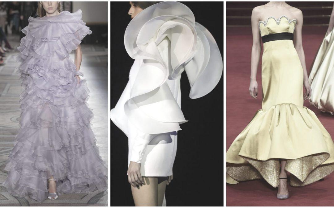 10 Flounces ideas from Paris Haute Couture Week