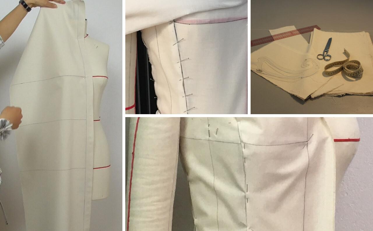 Skirt Draping Haute Couture Masterclass Modahow