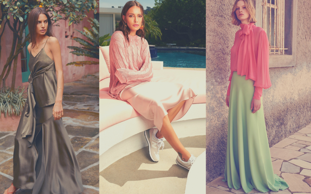 Summer 2020 Skirts trends: Biais cut Skirts