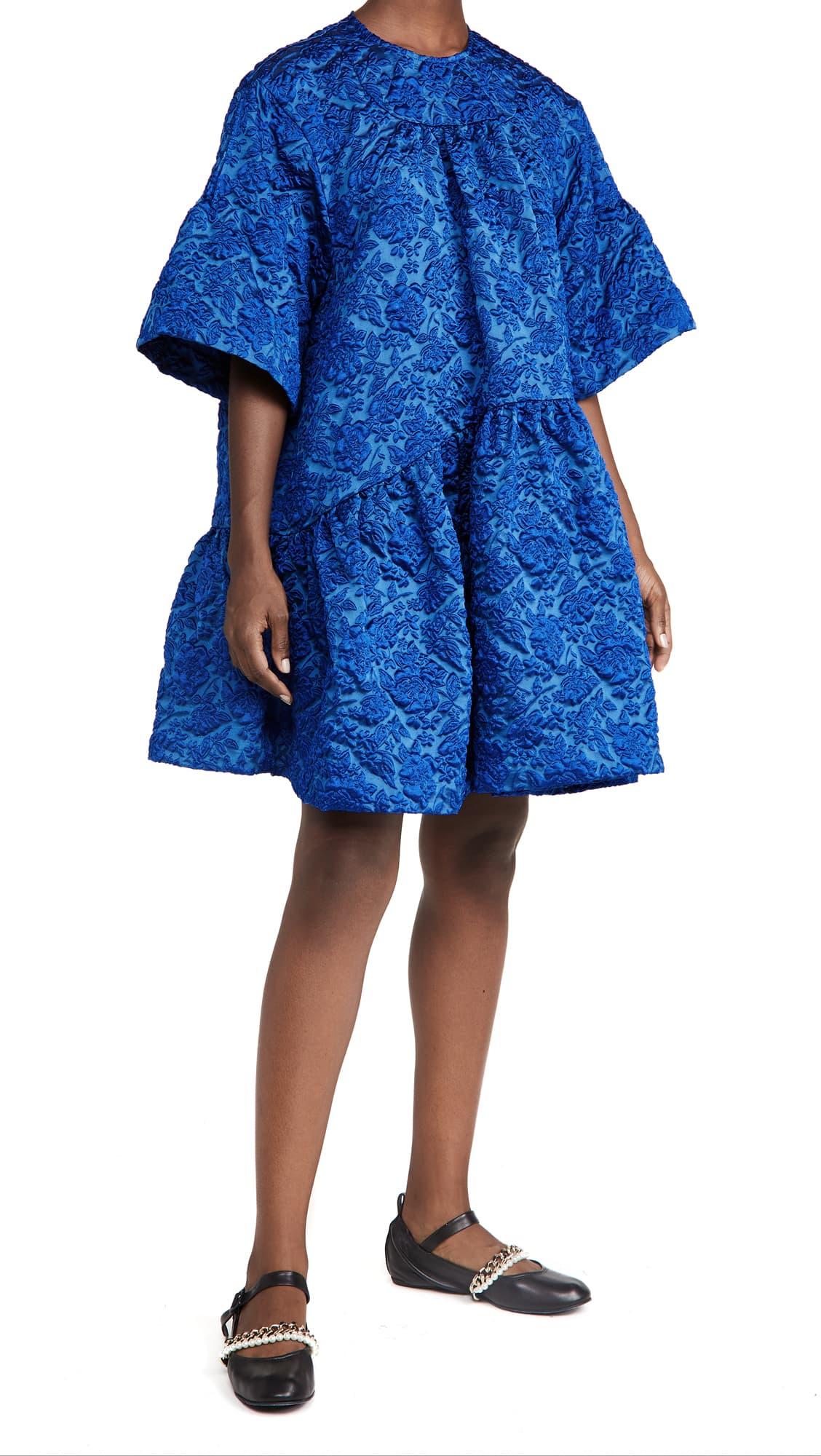 Simone Rocha Bright Blue Dress